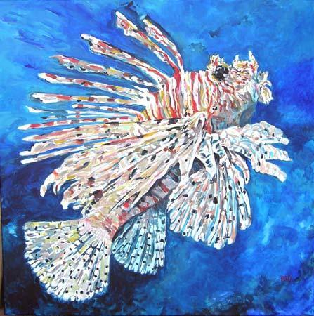 Lionfish Artwork
