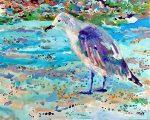 Old Bird at the Beach