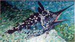 Big Black Marlin
