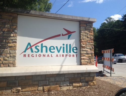 Flying through Asheville, NC this summer?