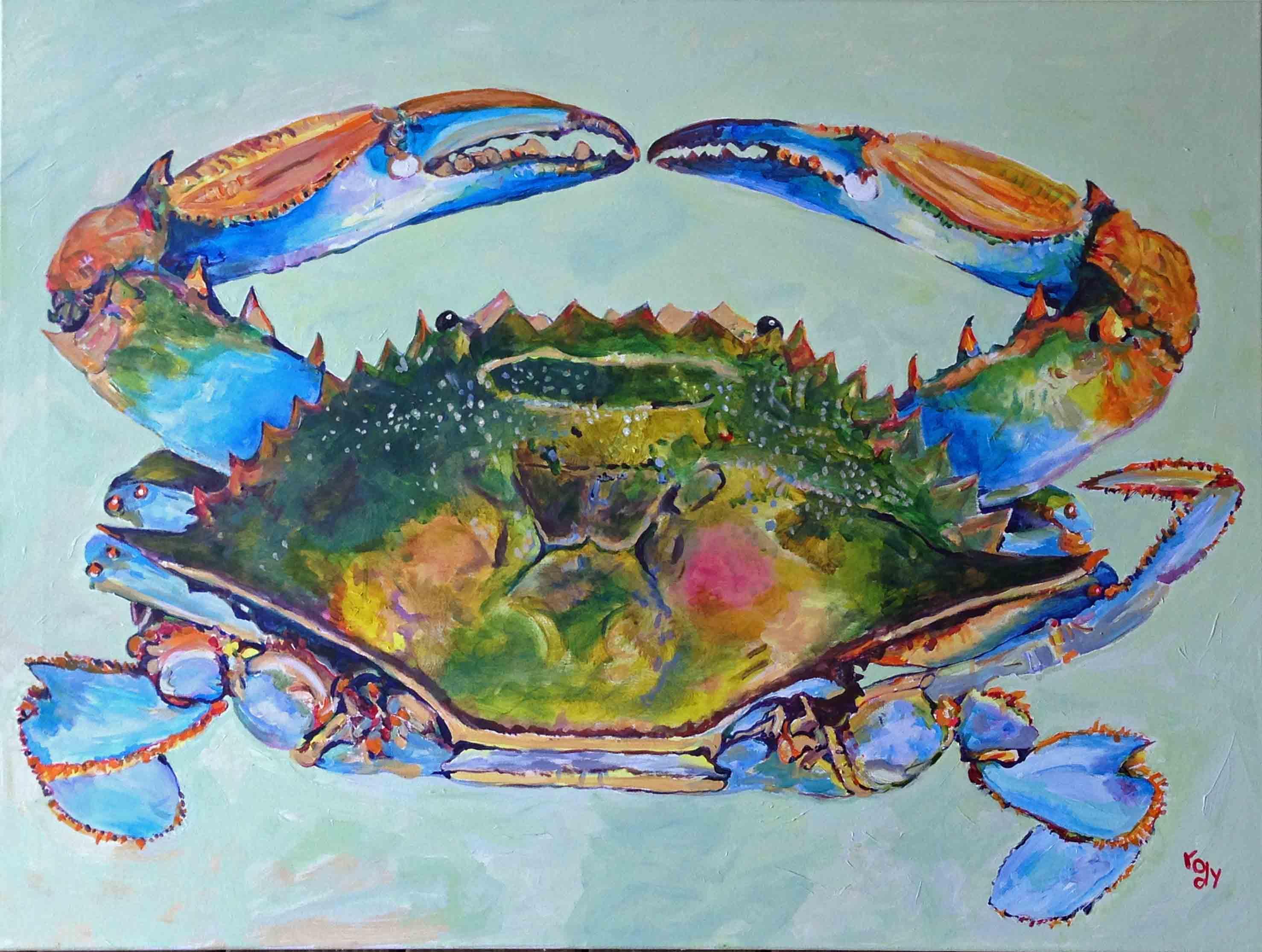 Acrylic Paintings Of Sea Life