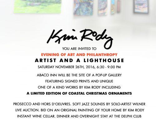 Artist and a Lighthouse