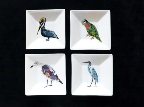 "5"" Square Tidbit Dishes"