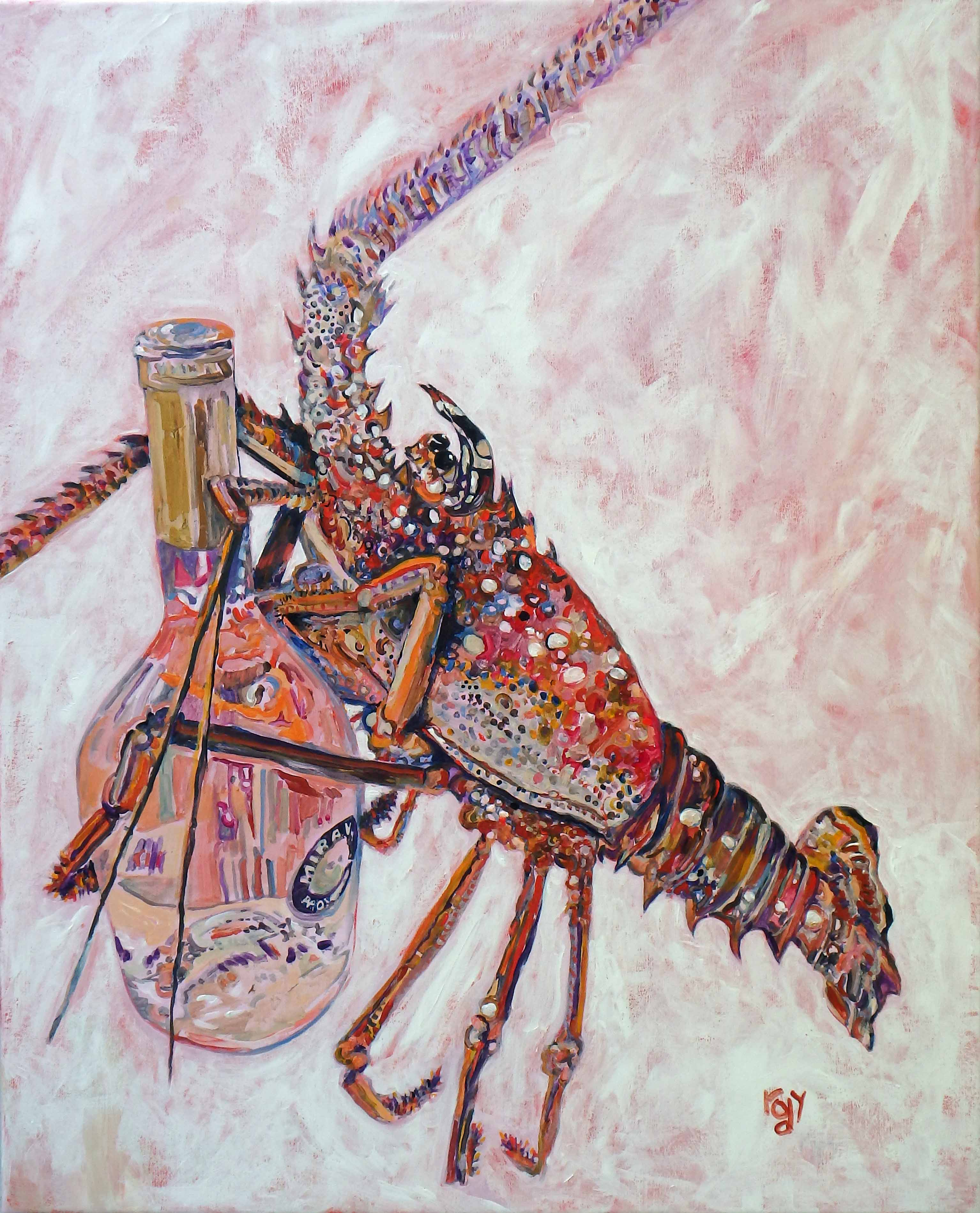 La Vie En Rose – KIM RODY Ocean Art